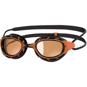 Zoggs Predator Polarized Ultra Goggle Orange/Black
